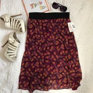 LuLaRoe | Lola Skirt, NWT, Medium